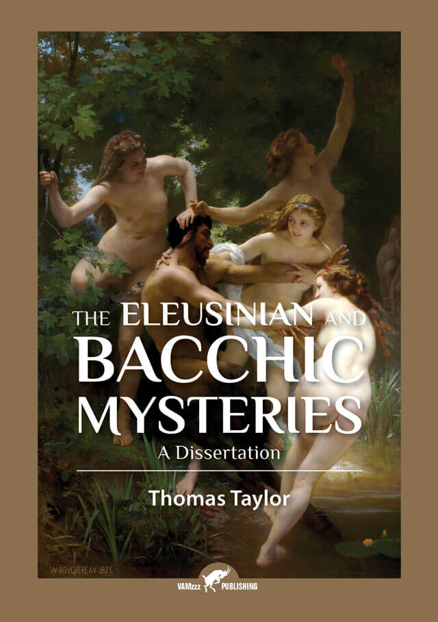 the eleusinian and bacchic mysteries a dissertation by thomas taylor The eleusinian and bacchic mysteries: a dissertation | thomas taylor | isbn: 9781103858842 | kostenloser versand für alle bücher mit versand und verkauf duch amazon.